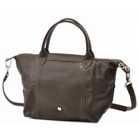 大注目! ★ Longchamp ★ LE PLIAGE CUIR 2WAY ハンドバッグ