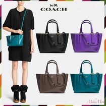 関送込♪COACH☆CROSBY mini carryall in smooth leather 33537