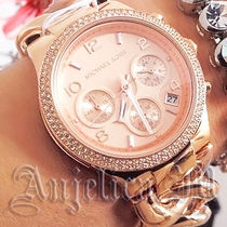 ★大人気★Michael Kors  Runway Twist Rose Gold Tone MK3247
