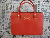 即発!★Kate Spade★Wellesley Durham★Empire Red