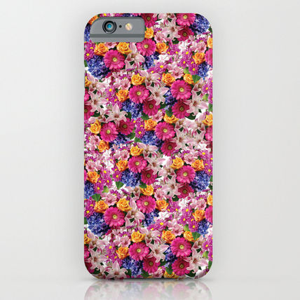 Society6 iPhone・スマホケース Society6 ケース Flowers by Electric Avenue