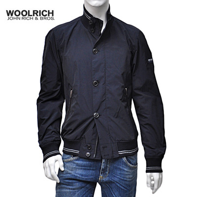 ★SALE★WOOLRICH ブルゾン ジャケット CLUB JACKET NAVY (M)
