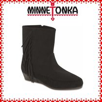 新作♪【MINNETONKA】ミネトンカ  Side Fringe Wedge Bootie