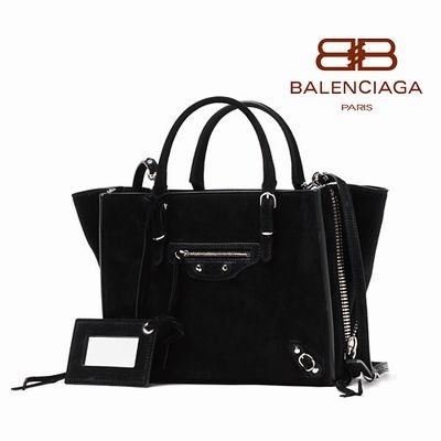 '14秋冬 ☆Balenciaga☆ MINI PAPIER A4 Zip Suede 2wayバッグ♪