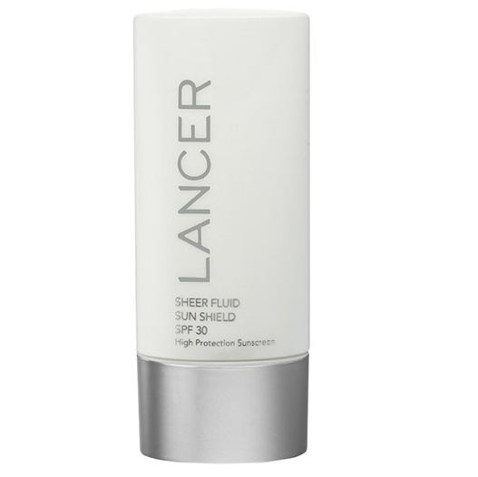 【LANCER】Sheer Fluid Sun Shield SPF 30 Sunscreen