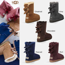 即日発送★UGG Bailey Bow Corduroy Chestnut★