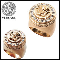 EXPRESS配送!入手困難!Versace - Icon Glossy Crystal Ring