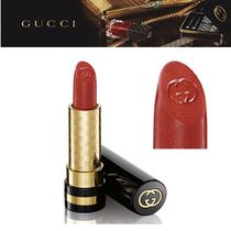 日本未発売【Gucci】コスメ  Luxurious Lipstick Scarlet