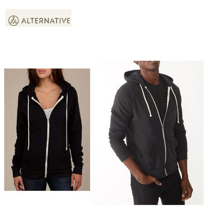 即発セール【送料無料】alternative MEN'sRocky ZIP Hoodie