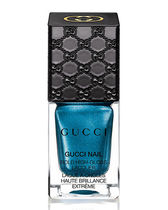 "【日本未上陸】""Gucci"" Bold High-Gloss Lacquer, Prussian Blue"