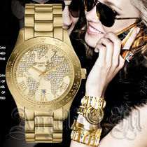 ★NEW★Michael Kors Layton Gold Crystal Pave Dial MK5959