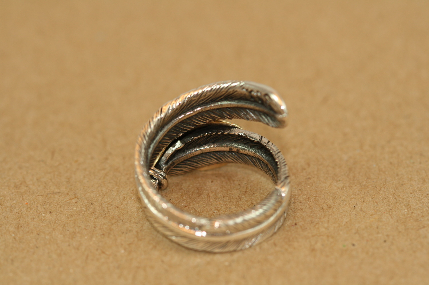 silver925 ring 琥珀 ☆★☆