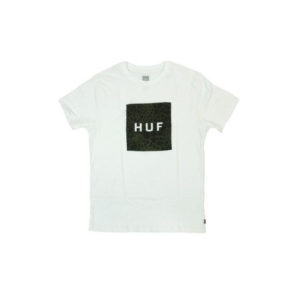 HUF (ハフ) BOX LOGO FILL SHELL SHOCK TEE / HUFTS41001