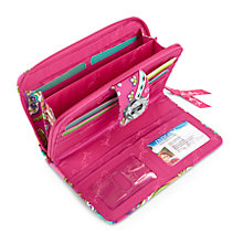 Turn Lock Wallet in Pink Swirls / 日本未入荷!正規品!