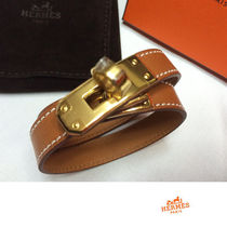 HERMES 完全完売Kelly Double tour ブレスレットGold x Gold金具