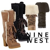 NINE WEST☆2WAYフェイクムートンブーツMAGICHAT SUEDE BOOTS