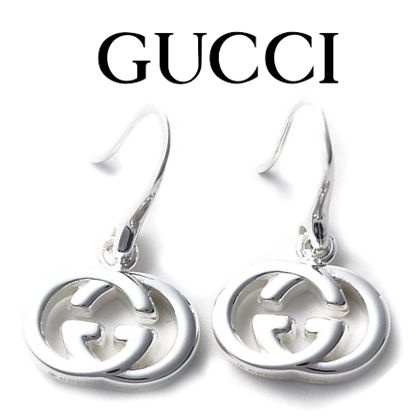 14AW新作 ☆Gucci☆ Interlocking G ピアス♪