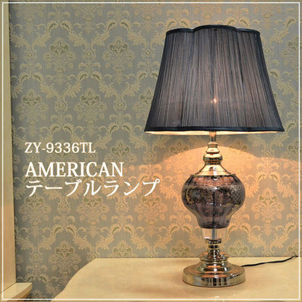 ♦ / AMERICAN table lamp MBL Crystal relief