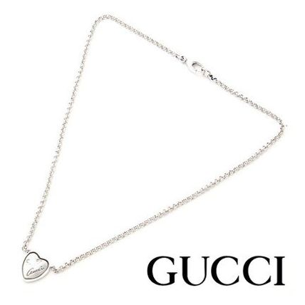 14AW新作 ☆Gucci☆ FLORA ハート ネックレス♪