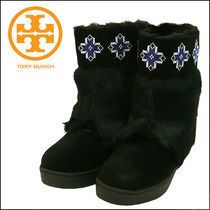 Tory Burch【トリーバーチ】  LAFA YETTE EMBROIDERED BOOTIE