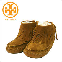 Tory Burch【トリーバーチ】  COLLINS FRINGE MOCCASIN-SPLIT
