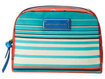 Marc by Marc Jacobs(マークバイマークジェイコブス) メイク小物その他 国内(送料込)Coated Canvas Stripe Large Cosmetic Bag