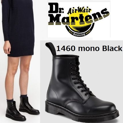And Dr. Martens 1460 mono 8-eye boots