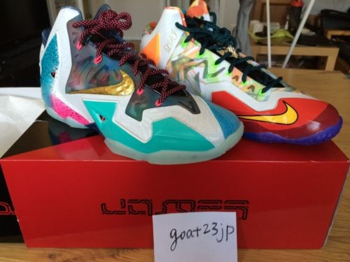 NIKE LEBRON 11 レブロン XI PREMIUM WHAT THE LEBRON