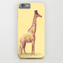 【海外限定】society6★Fashionable Giraffe iPhoneケース