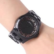 Marc by Marc Jacobs - Henry Skeleton Watch Black