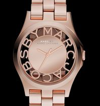 Marc by Marc Jacobs - Henry Skeleton Watch Rose Gold