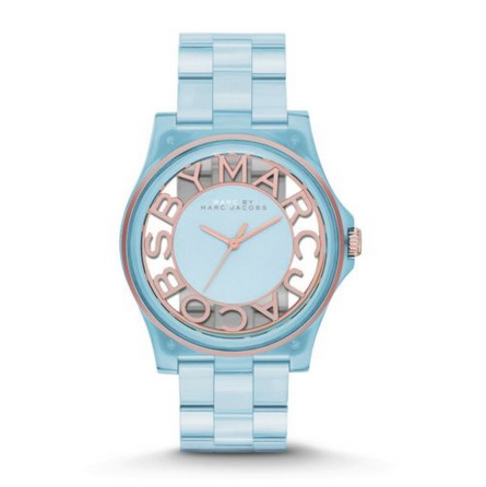 Marc by Marc Jacobs - Henry Skeleton Watch Ice