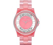 Marc by Marc Jacobs - Henry Skeleton Watch Coral
