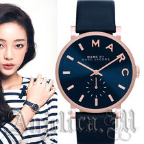 ★NEW★Marc by Marc Jacobs Baker Navy Leather Watch MBM1329