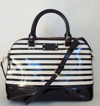 【1-2日到着】kate spade●wellesley stripe small rachelle●