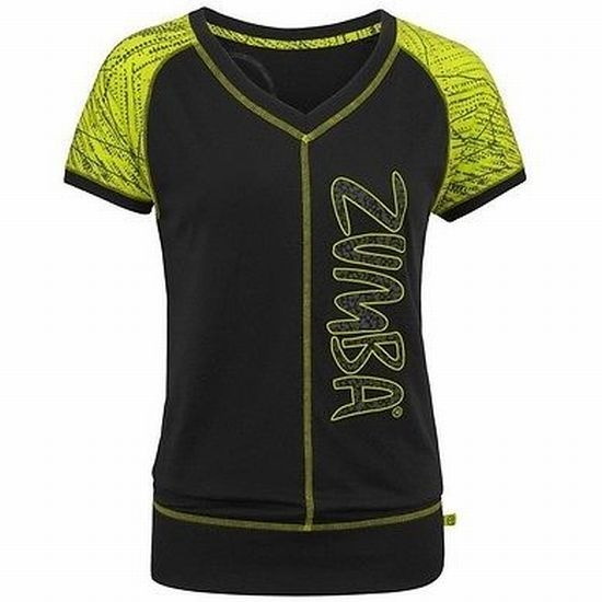 ☆ZUMBA・ズンバ☆Message In A Bubble Tee BK
