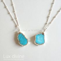 ☆Luxdivine☆ターコイズ Petite ネックレス SILVER☆国内発送☆