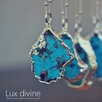 ☆Luxdivine☆ターコイズ MEDIO ネックレス SILVER☆国内発送☆