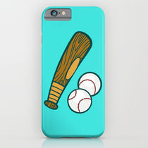 【海外限定】society6★Bat And Balls iPhoneケース
