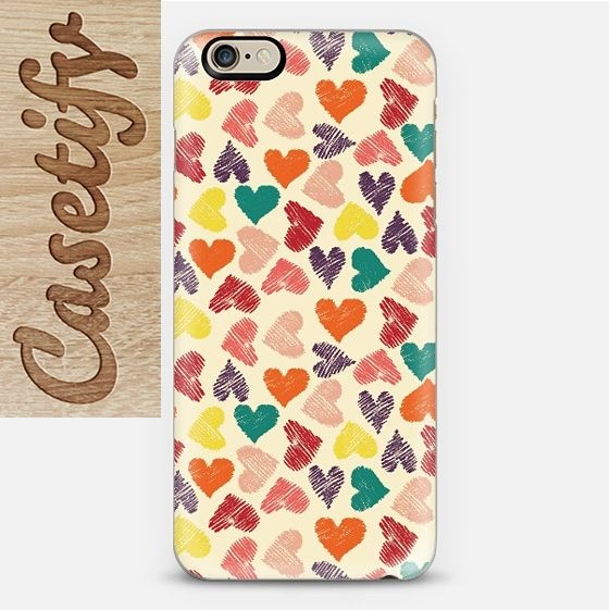 【送料込】☆Casetify LITTLE HEARTS iPhoneケース☆