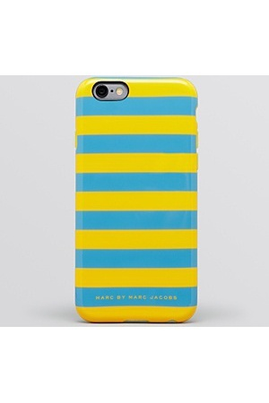 新作!MARC BY MARC JACOBS STRIPE IPHONE 6 CASE★ストライプ