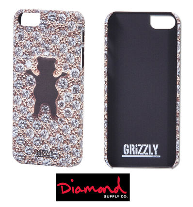 Diamond Supply Co スマホケース・テックアクセサリー *US限定* GRIZZLY iPhone5/5S Case