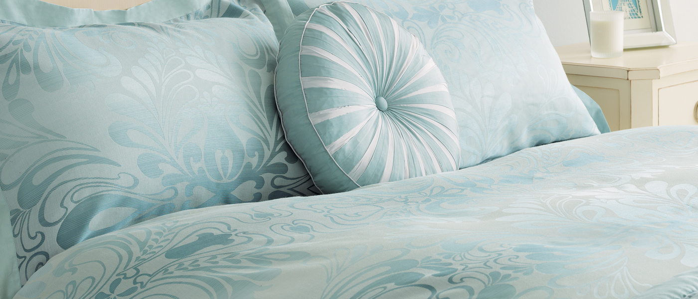 Laura Ashley☆Fitzroy Ombre Cotton Blend Bed Setダブル♪
