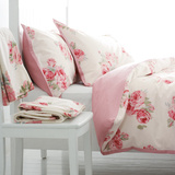 Laura Ashley☆Couture Rose Cotton Bedlinenダブル♪
