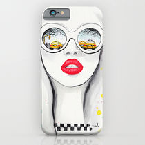 【海外限定】society6★Winter In NYC iPhoneケース