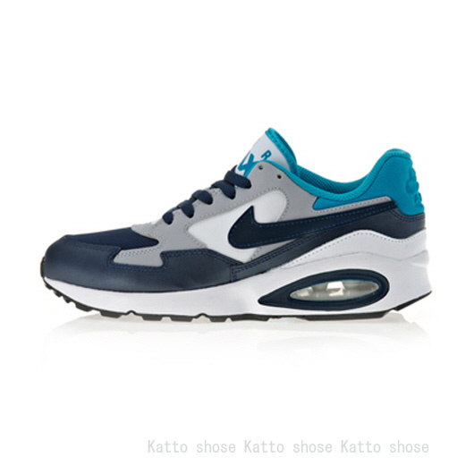 NIKE★WMNS AIR MAX ST★GS★ブルー×ネイビー・22.5~25cm