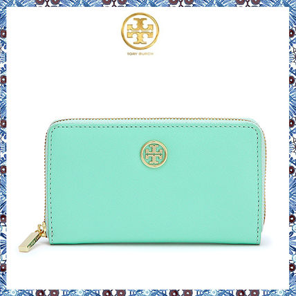 国内即発♪Tory Burch☆robinson MINI ZIP CONTINENTAL WALLET