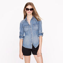 ☆J Crew ☆WESTERN DENIM SHIRT☆