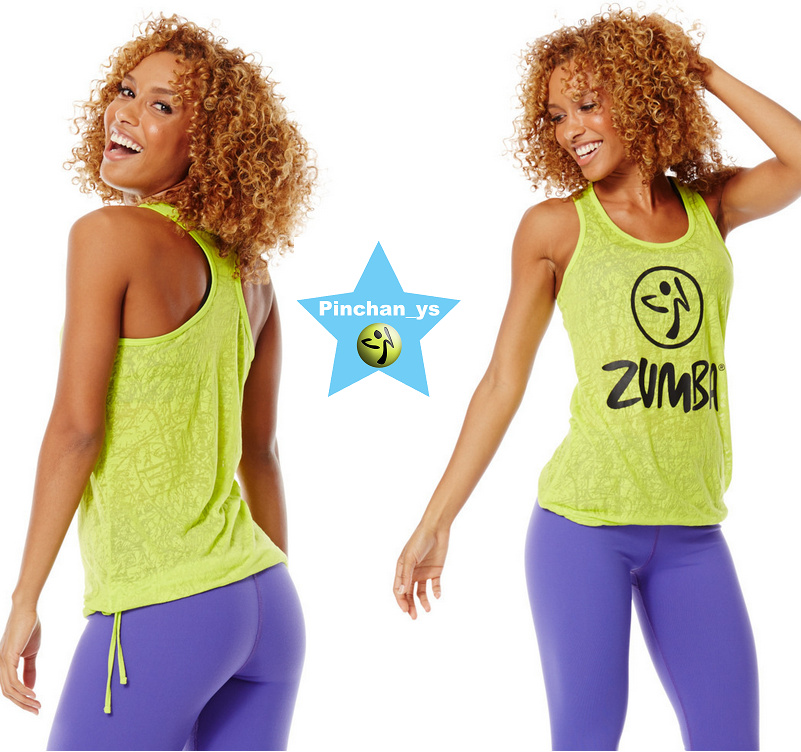 1月新作★【ZUMBA】Don't Burst My Bubble Tank(グリーン)