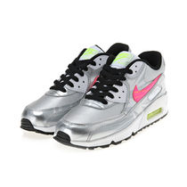 ◆レア◇NIKE◇AIR MAX 90 FB (GS))◆シルバー◆